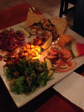 Stashus con Fusion: Dinner