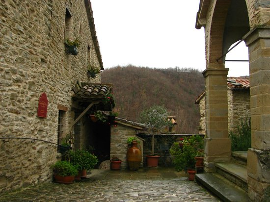 Castello Della Pieve: Esterno
