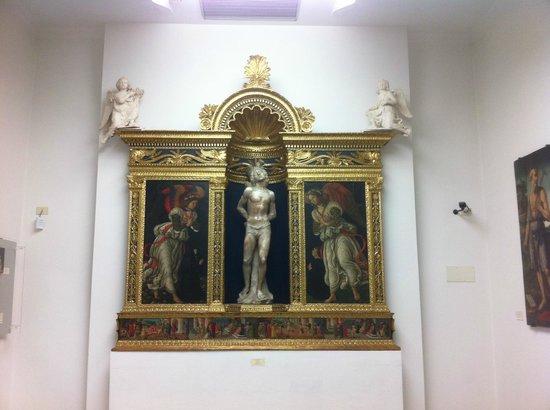 Museo della Collegiata di Sant'Andrea a Empoli, Tabernacolo del Rossellino
