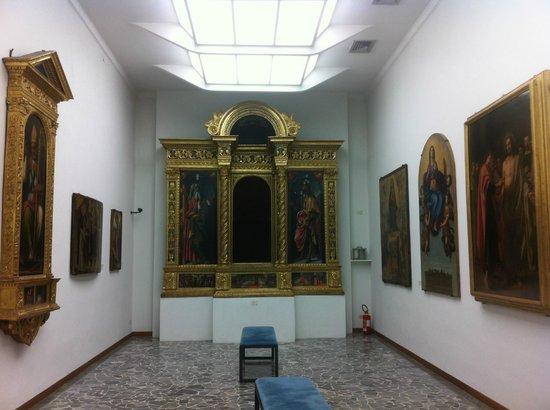 Museo della Collegiata di Sant'Andrea a Empoli, Tabernacolo del Botticini