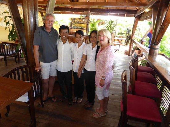 Rikitikitavi: Some of the wonderful staff