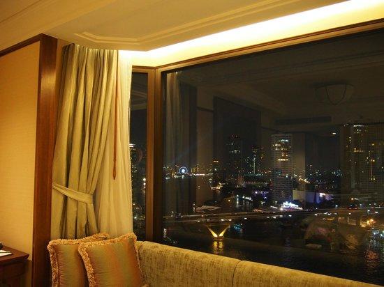 Shangri-La Hotel,Bangkok : the view