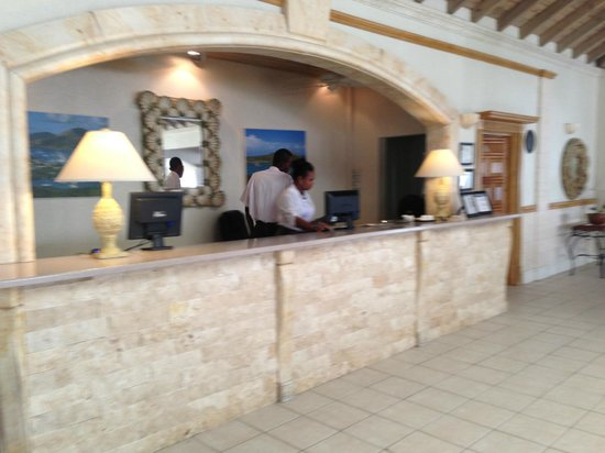 Blue Waters Antigua : Reception