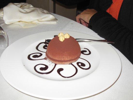 Agriturismo Fontan di Noce: tartufo nero alle nocciole