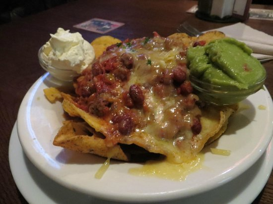 Pig and Whistle Historic Pub : Nachos