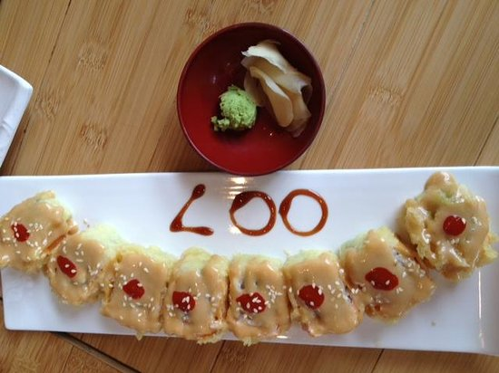 "Oishi: The Fabulous and Delicious ""007"" roll"