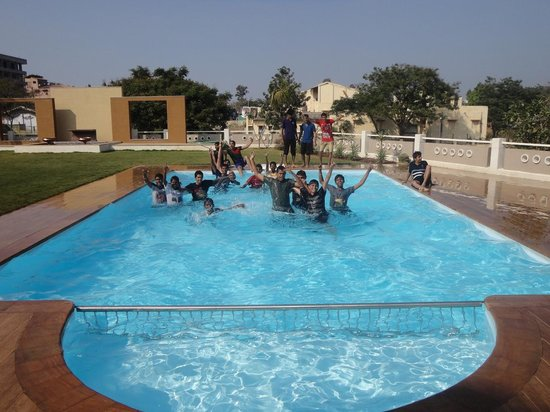 Swimming pool picture of patang lords eco inn saputara Environmentally sustainable swimming pools