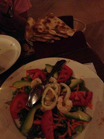 KOKi Beach Restaurant & Bar: Salad