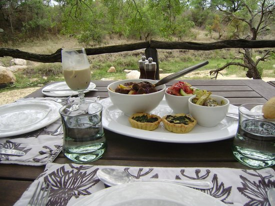 Dulini Lodge: Lunch