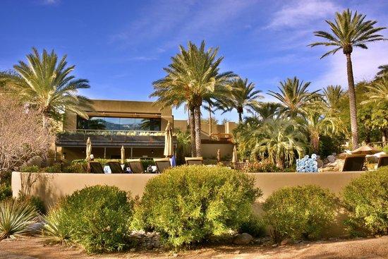 Miraval Arizona Resort & Spa : View of the pool & spa.