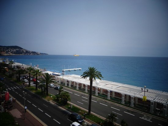 Hotel Le Royal: view from balcony