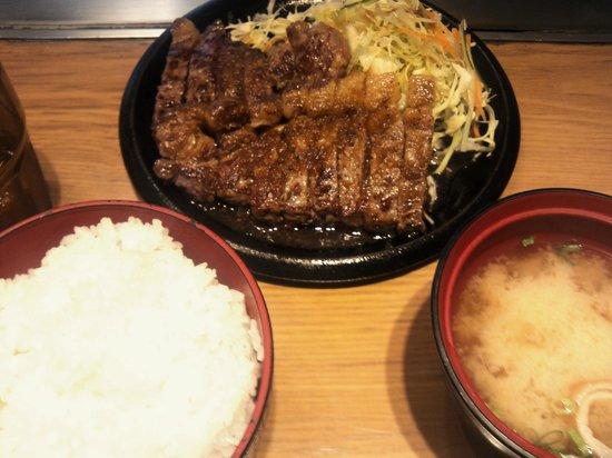 Teppanyakikanro: ボリュームのあるステーキ定食