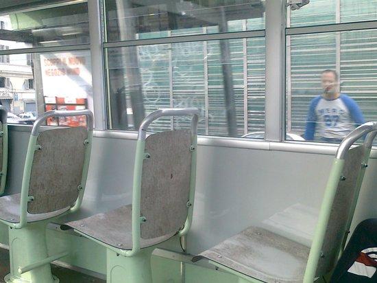 Linea 7 Storica : i sedili