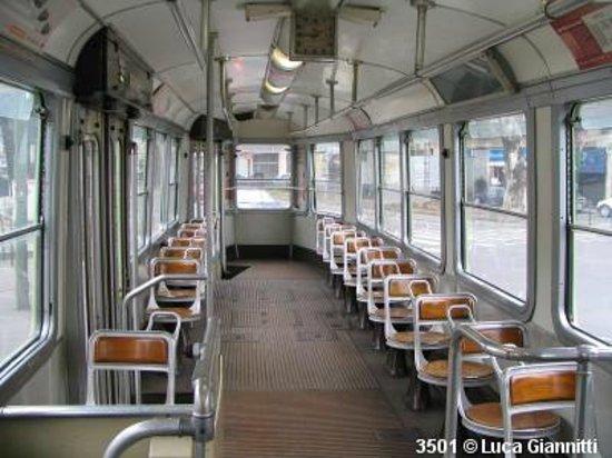 Linea 7 Storica : Interno della 3500