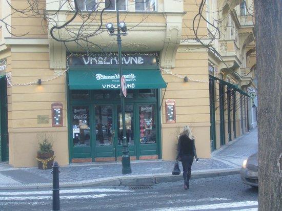 Kolkovna Olympia : Вид ресторана С улицы