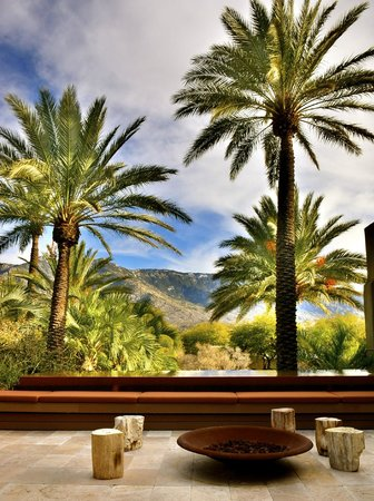 Miraval Arizona Resort & Spa: The view from the spa.