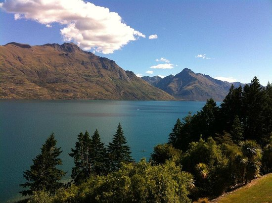 Heritage Queenstown: View from balcony (room 305)