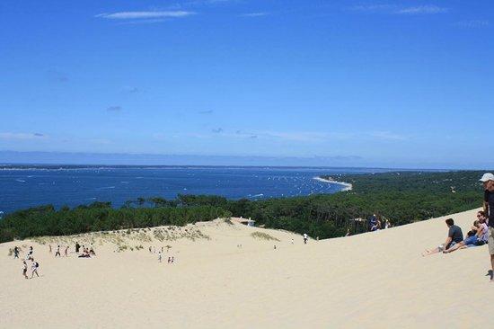 Dune du Pilat : Aussicht