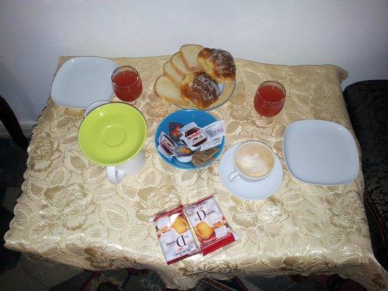 Tolentino Suites : petit déjeuner