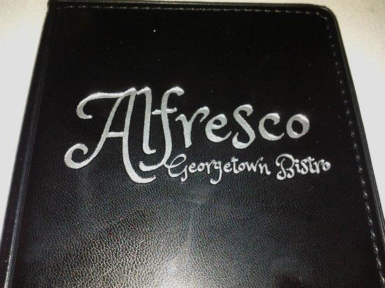 Alfresco Bistro: Logo is sweet!