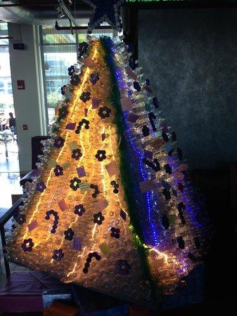 Aloft San Jose Hotel: Christmas tree
