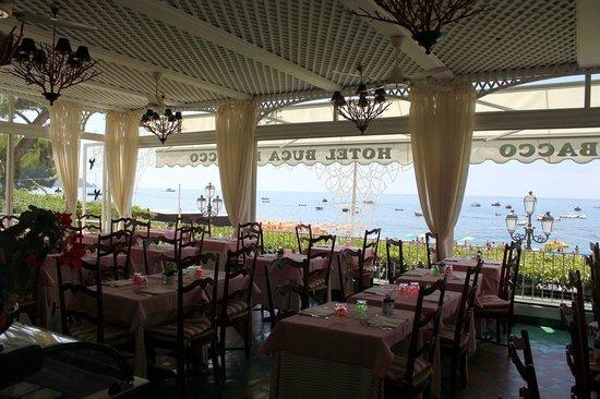 Hotel Buca di Bacco: Dining Room