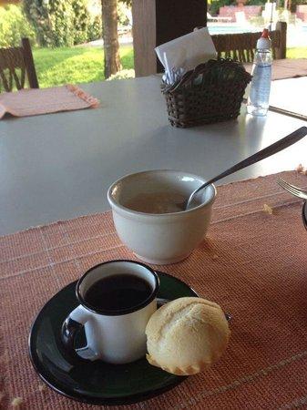 Hotel Pousada Aguas de Bonito: Café Pantaneiro