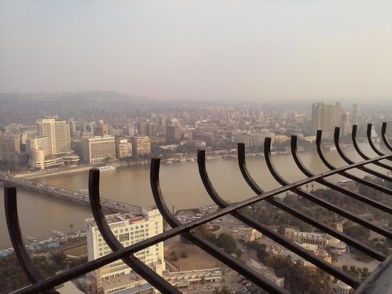 Fernsehturm Kairo: View from upthere2
