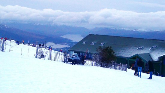 Ben Nevis Hotel & Leisure Club: Панорама Форт-Вильяма с горнолыжного спуска