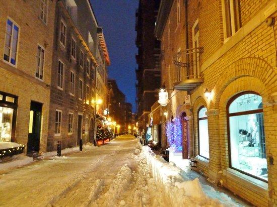 Auberge Saint-Antoine: Old Quebec City