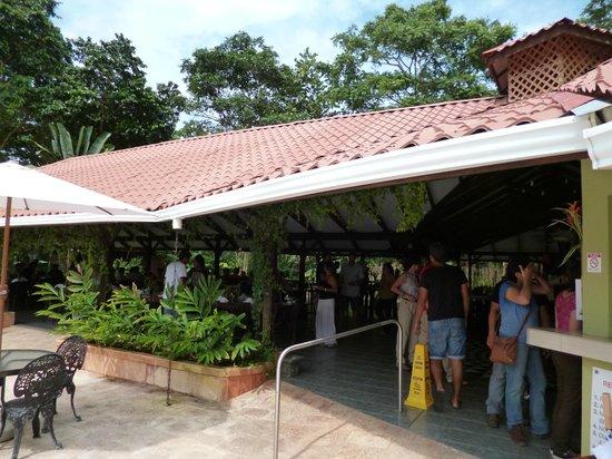 Mawamba Lodge : restaurant