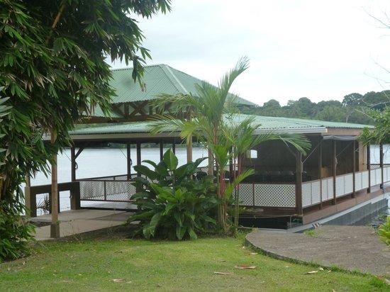 Mawamba Lodge : embarcadero
