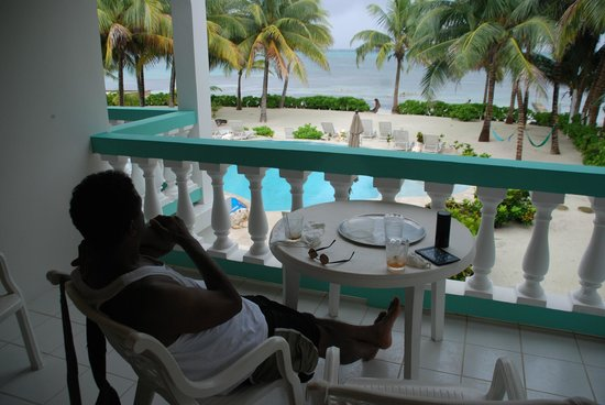Relaxing at Coral Bay Villas