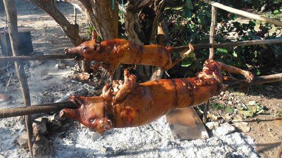 Islazul Villa Don Lino: Le fameux puerco asado