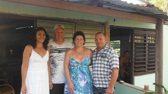 Islazul Villa Don Lino: Nos nouveaux amis