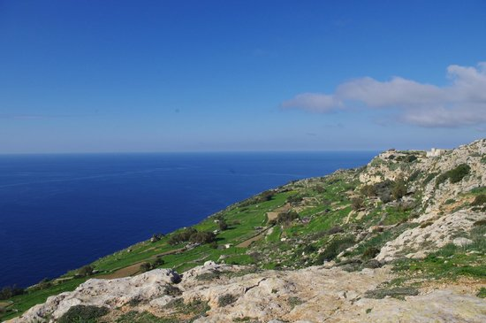 Dingli Cliffs: Dingli, Мальта
