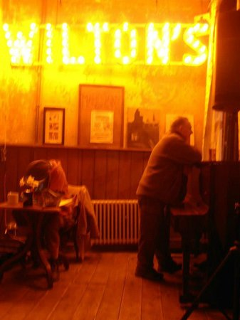 Wilton's Music Hall : Wilton's Bar in a moody evening!