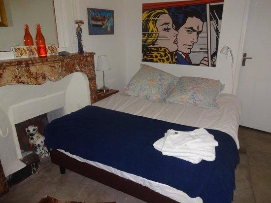 Le Nid' Oiseau: værelse