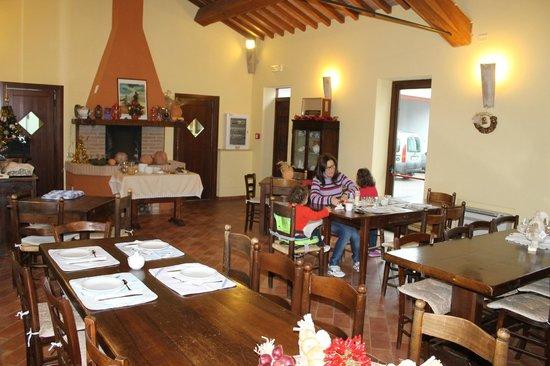 Agriturismo Flavia Constans: Sala da pranzo