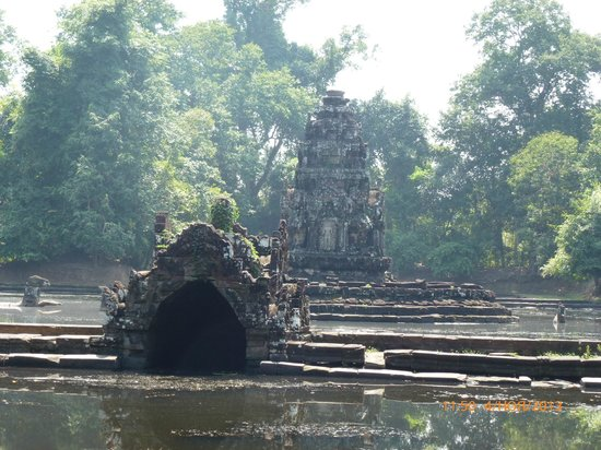 Image result for flooded temple