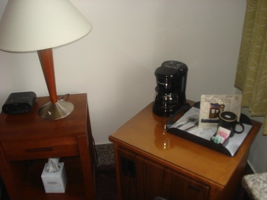 Latchis Hotel: In room coffee maker