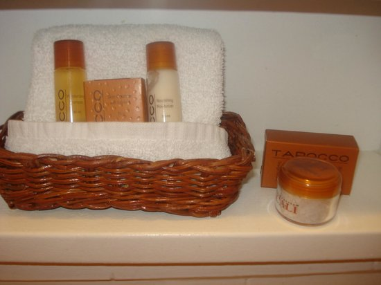 Latchis Hotel: Nice toiletries