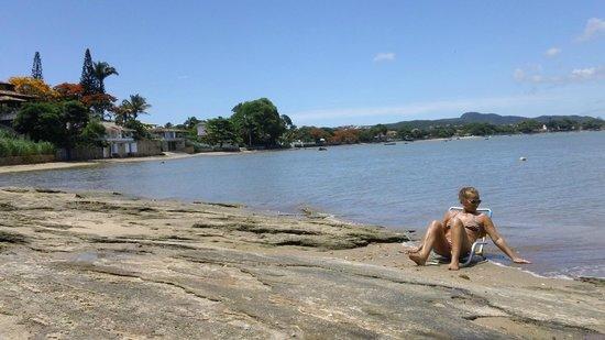 Martin Pescador : Playa