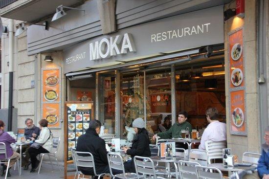 Moka Restaurant Cafeteria On Las Ramblas