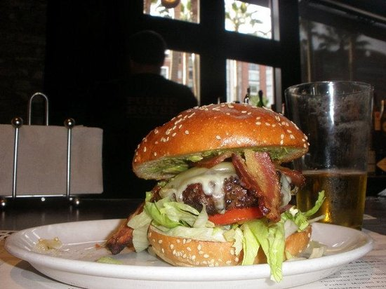 AT&T Park : hamburguesa