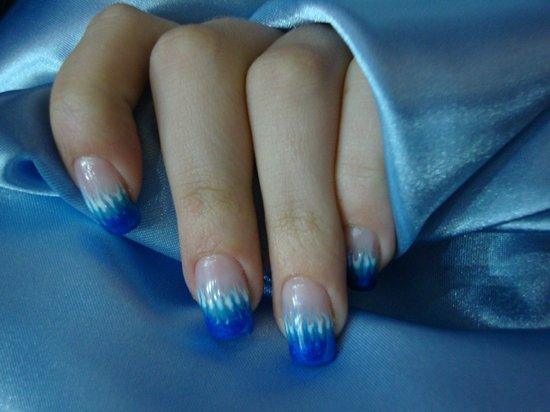 Liberty Style : Nail Art in gel