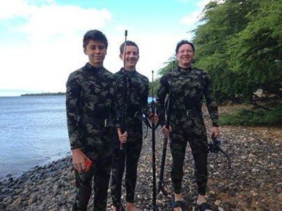 South Maui Spearfishing - Private Excursions: Malahini Dive
