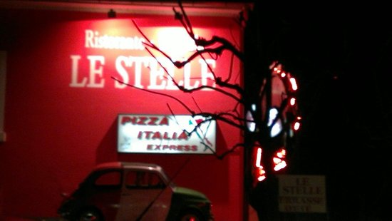 Le Stelle: Great pizza