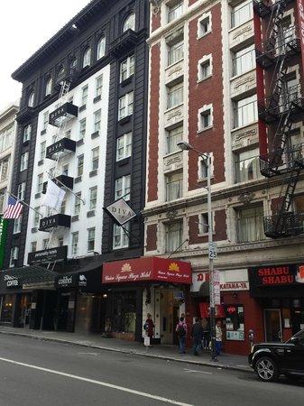 Union Square Plaza Hotel: Entrata