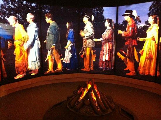 Chickasaw Cultural Center: Inside
